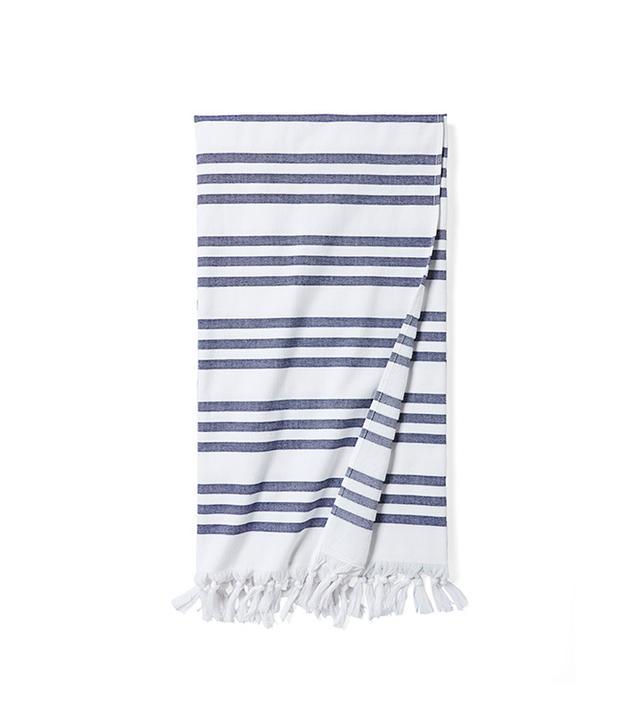 Serena & Lily Pinstriped Fouta Beach Towel