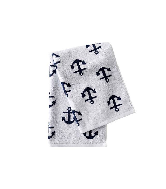 West Elm Anchor Jacquard Towels
