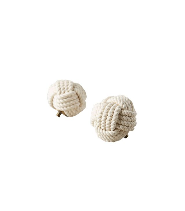 Anthropologie Nautical Jute Finials