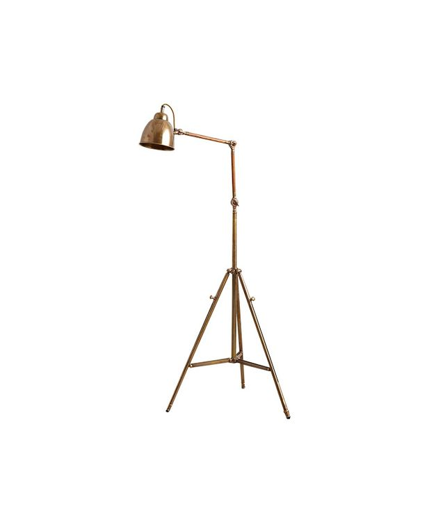Anthropologie Tripod Floor Lamp