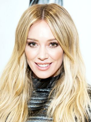 Hilary Duff Opts for Surprisingly Chic Daytime Metallics
