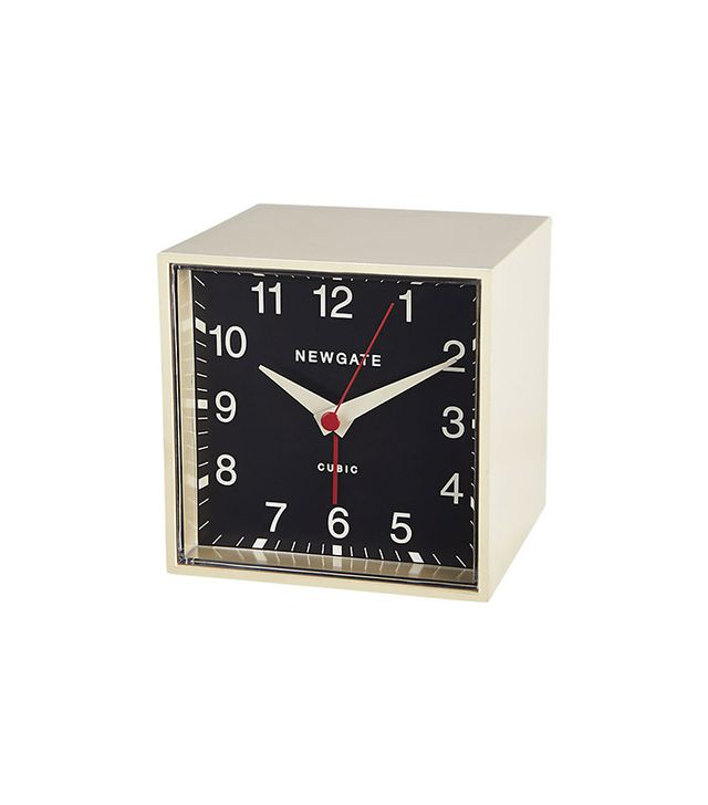 Newgate Cubic alarm clock