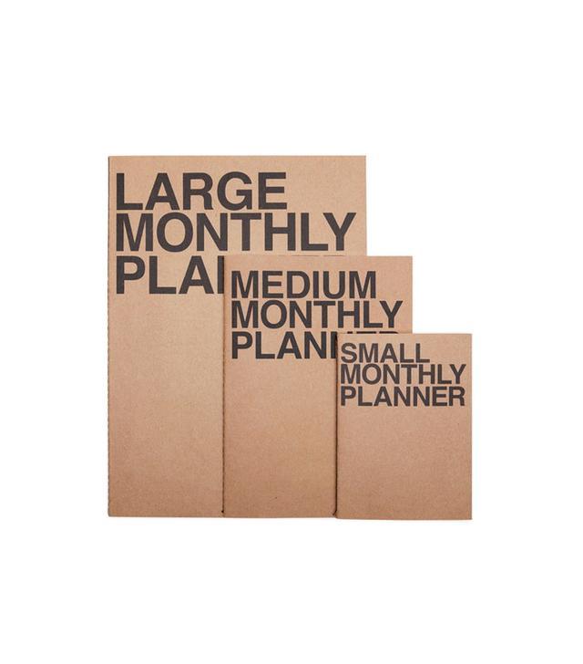 Poketo Monthly Planner
