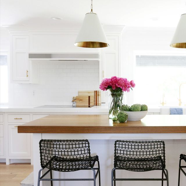 Before and After: A Drab Kitchen Becomes Light and Bright