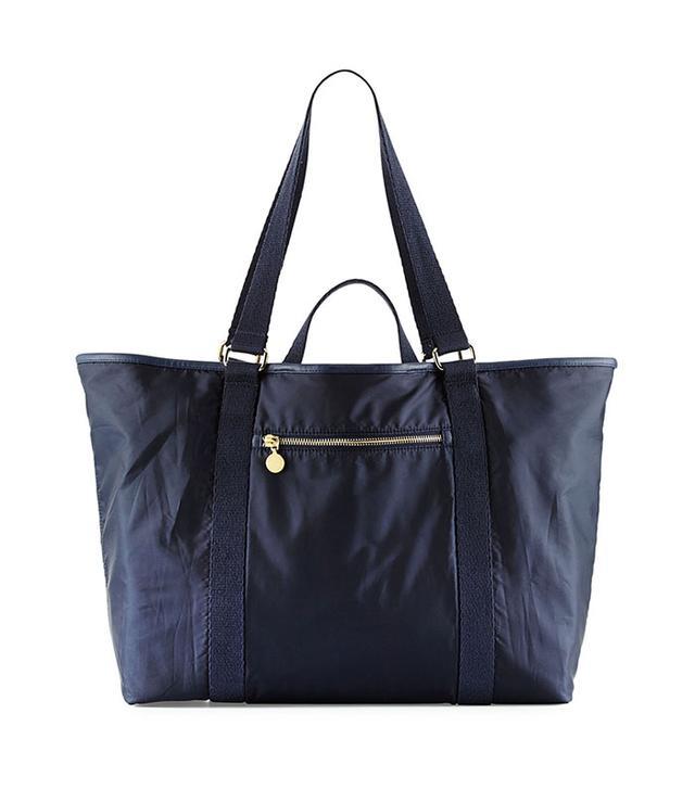 Stella McCartney Faux-Leather Trim Diaper Bag