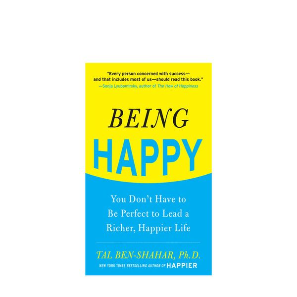 Tal Ben-Shahar Being Happy: You Don't Have to Be Perfect to Lead a Richer, Happier Life