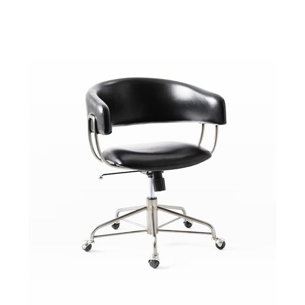West Elm Halifax Leather Office Chair