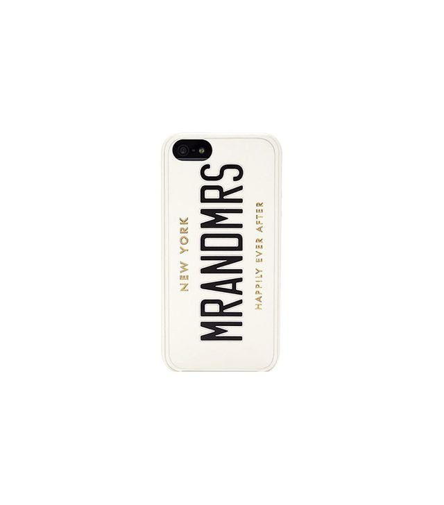Kate Spade Mr and Mrs iPhone Case