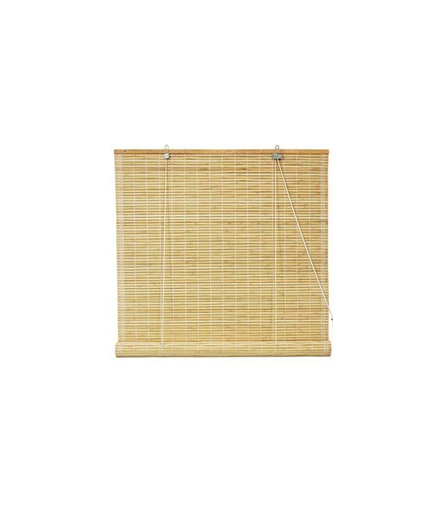 Overstock Bamboo Natural Roll-up Window Blinds