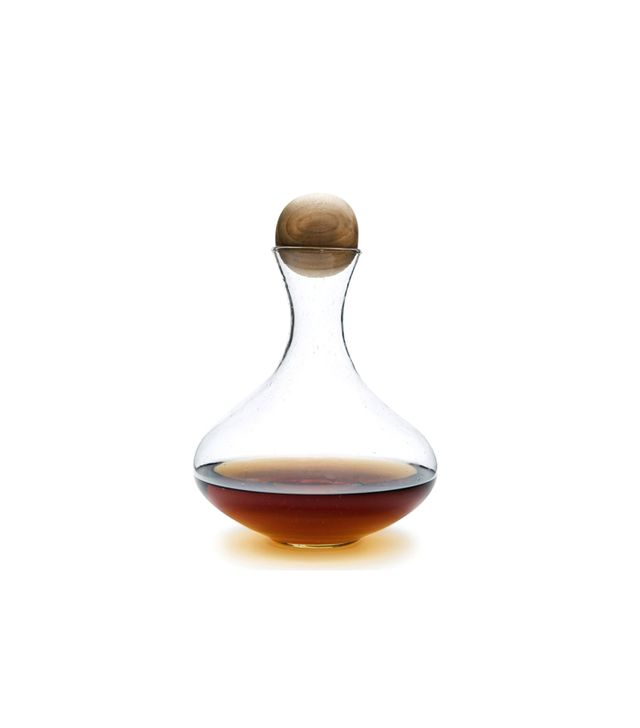 Decanter with Teak Stopper