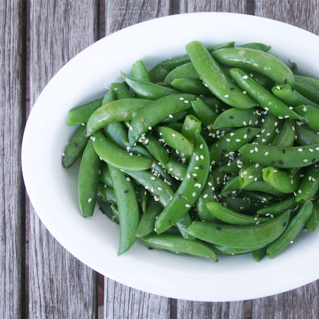 These Sesame Sugar Snap Peas Make the Perfect Side