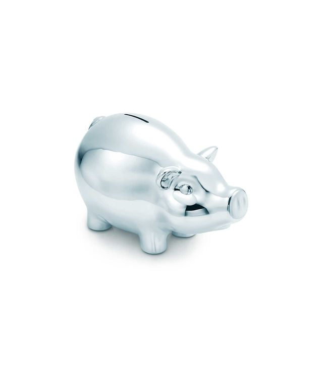 Tiffany&Co Piggy Bank in Sterling Silver