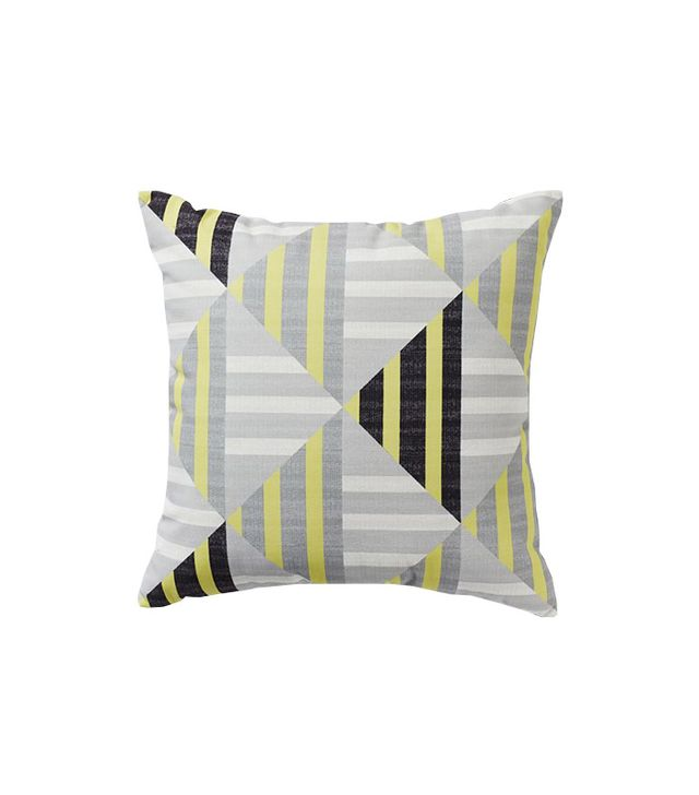 West Elm Outdoor Diamond Stripe Pillow