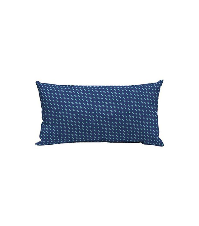 Room Essentials Lumbar Pillow Blue Dash