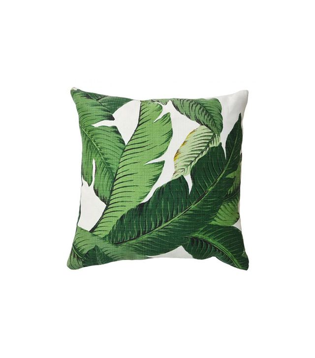 Lulu & Georgia Banana Leaf Pillow