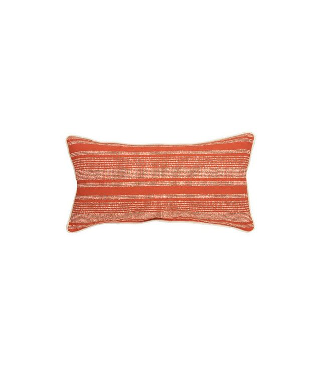 Threshold Lumbar Pillow Coral Stripe