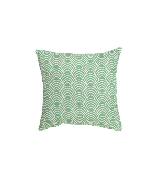 Threshold Seafoam Scallop Pillow