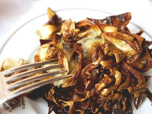 You Can't Get Any Better Than Double-Fried Artichoke