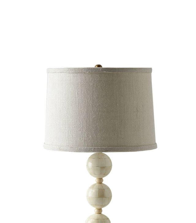 Anthropologie Handwoven Jute Lampshade