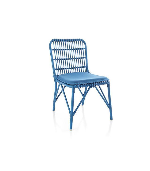 Crate & Barrel Kruger Turkish Tile Dining Chair