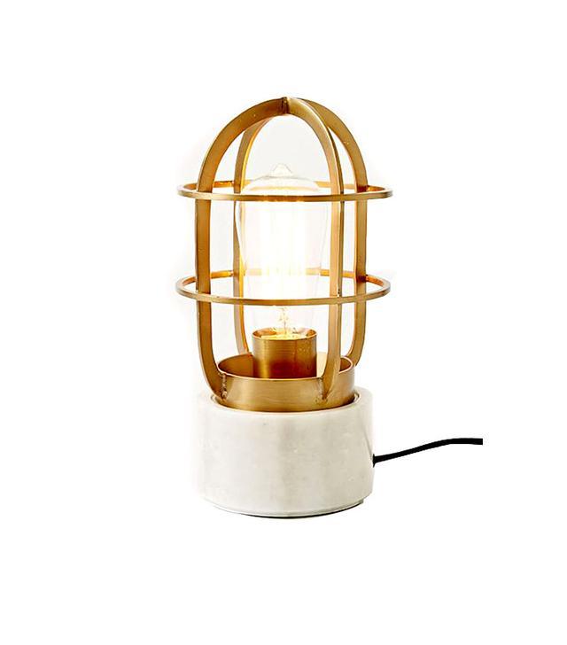 West Elm Mini Industrial Cage Lamp