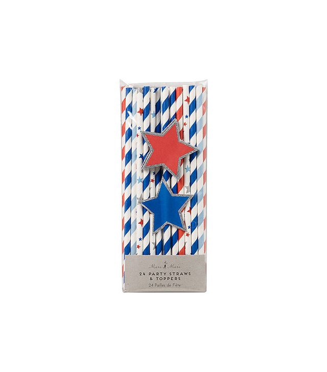 Paper Source 4th of July Straws