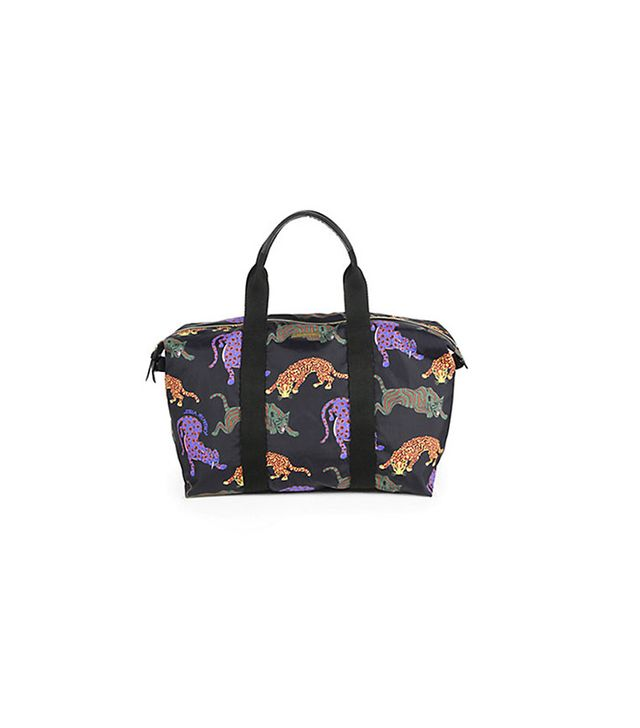 Stella McCartney Multicolor Cat Nylon Travel Bag