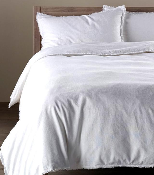 Nordstrom at Home Terra Cotton & Linen Duvet Cover