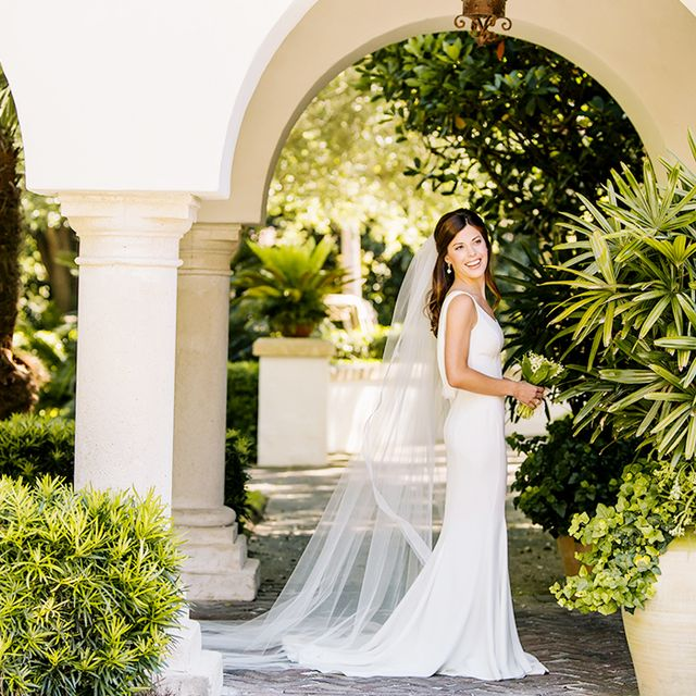 Real Weddings: A Picture-Perfect Sea Island Affair