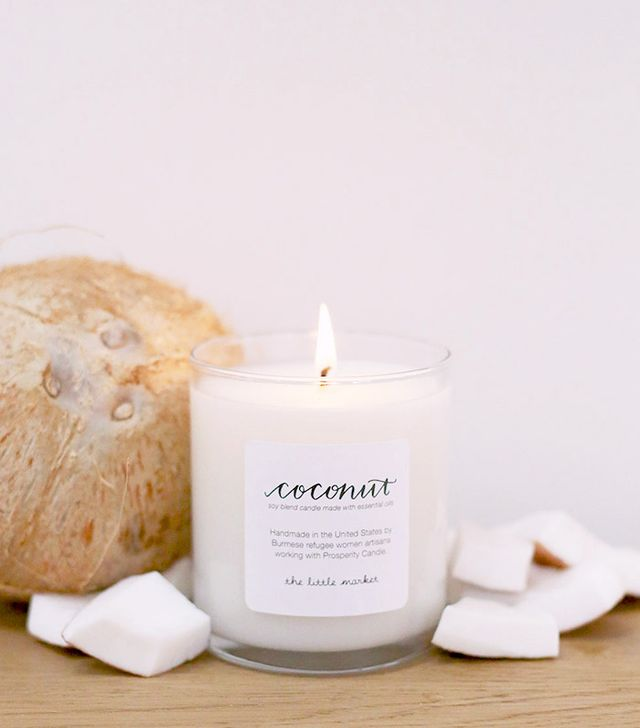 The Little Market Coconut Soy Blend Candle