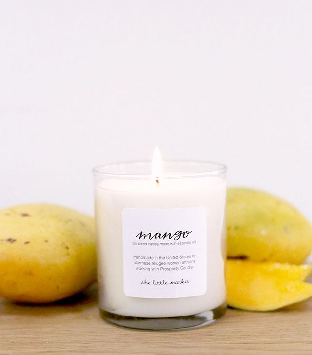 The Little Market Mango Soy Blend Candle