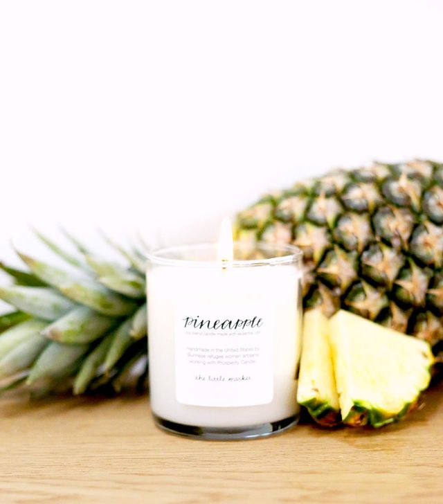 The Little Market Pineapple Soy Blend Candle