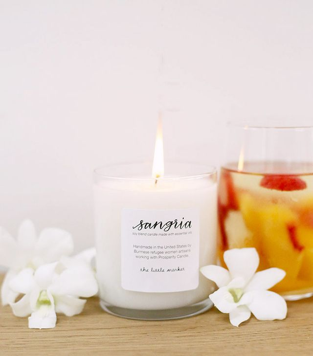 The Little Market Sangria Soy Blend Candle