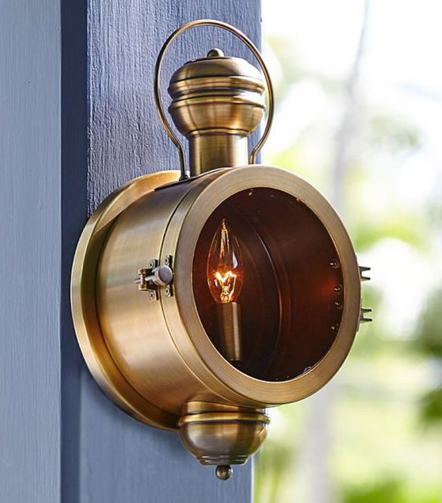 Pottery Barn Porthole Indoor/Outdoor Sconce