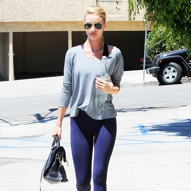 What Gigi Hadid, Rosie Huntington-Whiteley, and More Wear to Work Out