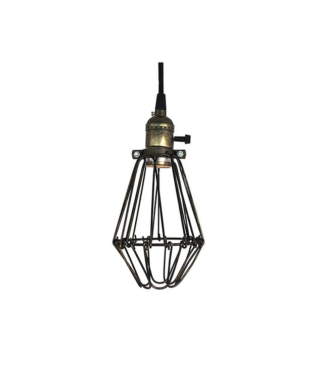 Ecopower Light Pendant Wire Cage Lamp Guard