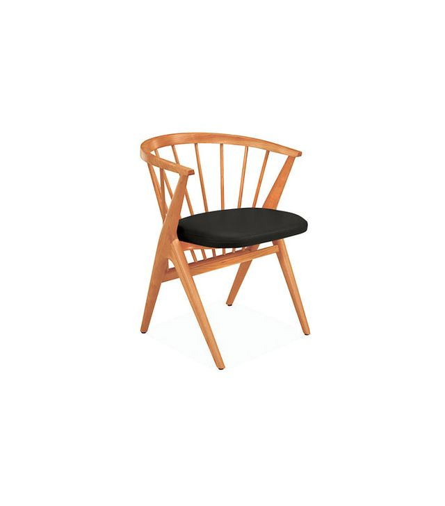 Room & Board Soren Chair with Leather Seat