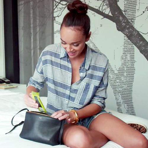 What's in Ashley Madekwe's Makeup Bag?