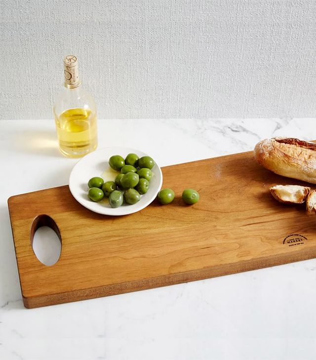 West Elm Cherry Wood Serving Board