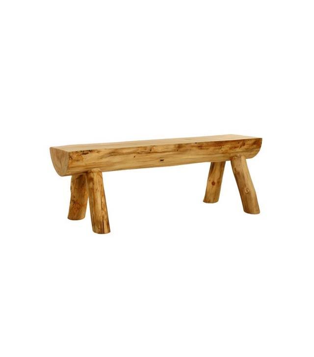 Colorado Aspen Rustic Furniture Colorado Aspen Rustic Furniture Half Log Bench