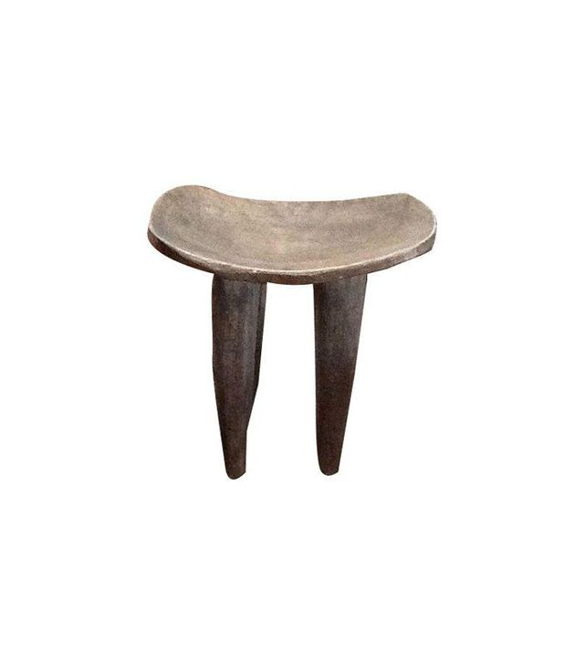 Chairish Antique African Stool