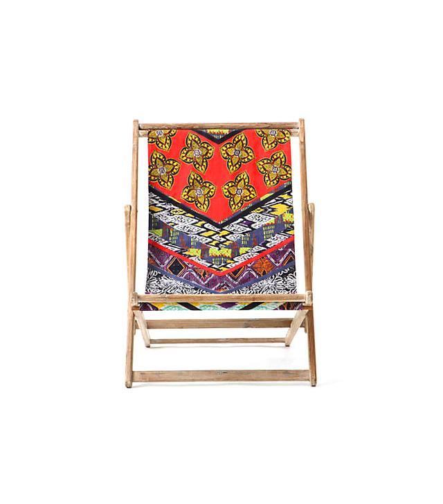 Anthropologie Pemba Beach Chair, Orange
