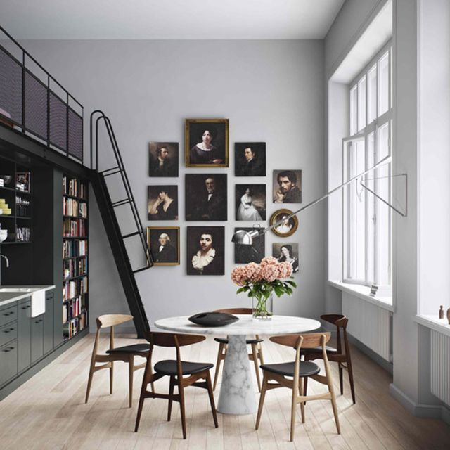 Inside a High-Drama Apartment in Stockholm