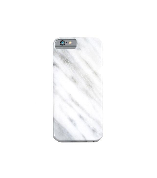 Society6 Carrara Italian Marble iPhone 6 Case