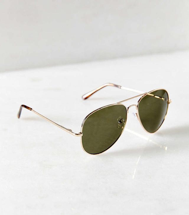Urban Outfitters Classic Aviator Sunglasses