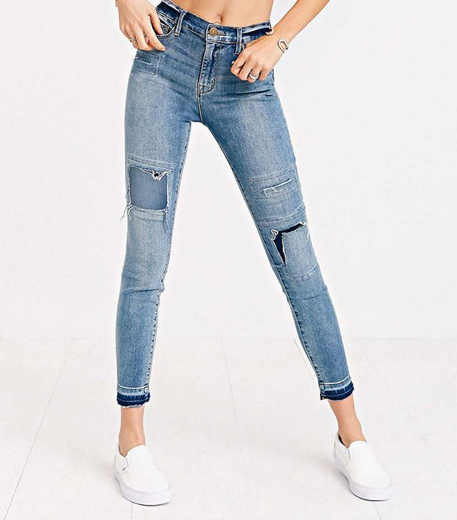 BDG Twig High-Rise Splash Patches Jeans