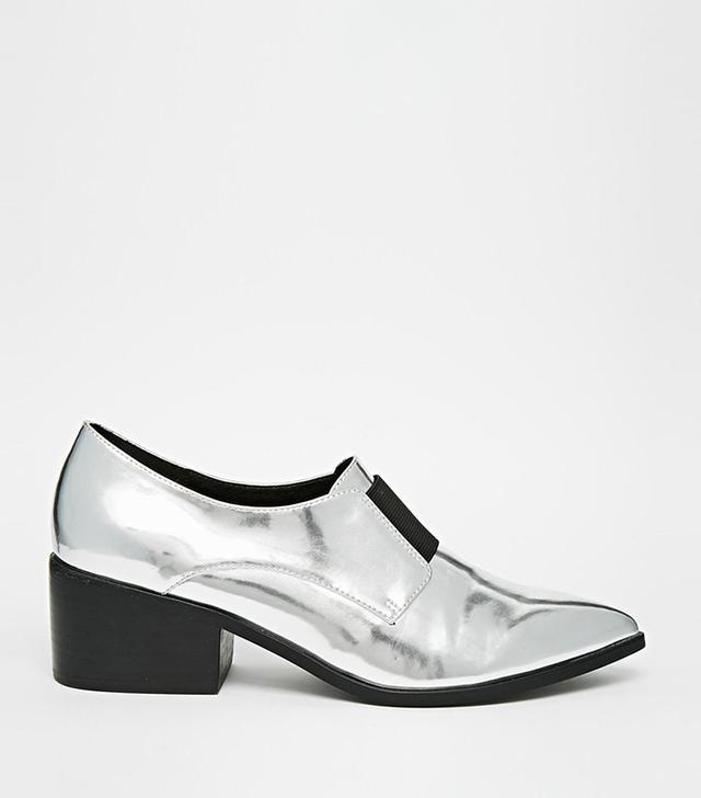 ASOS Socially Loafer Heels