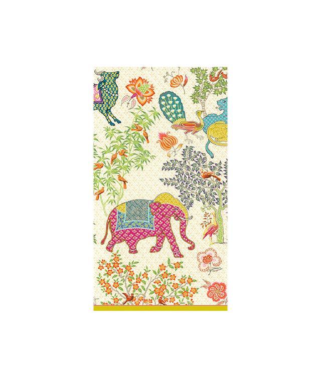 Caspari Le Jardin de Mysore Guest Towels