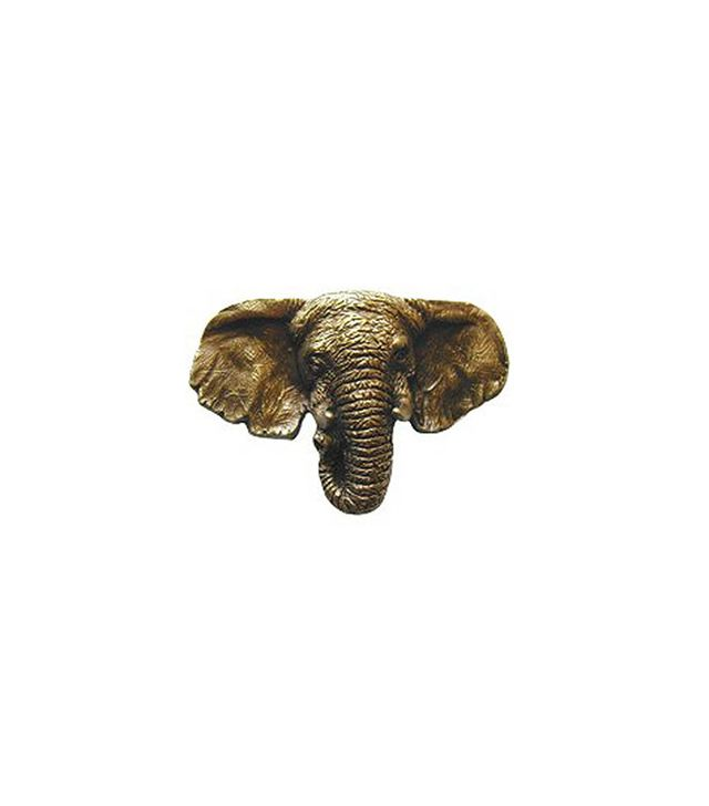 Knobbery Antique Brass Goliath Knob