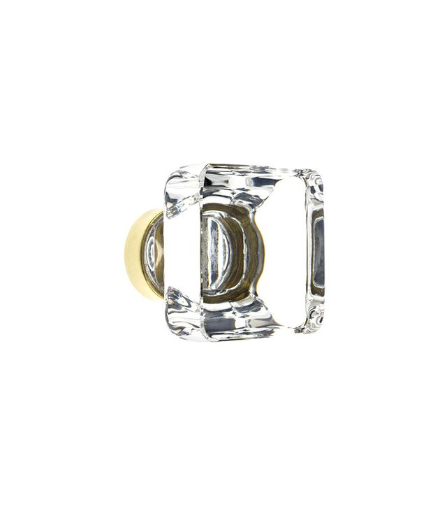 House of Antique Hardware Square Crystal Cabinet Knob